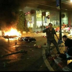 曼谷市中心爆炸